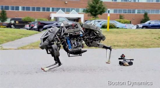 Boston Dynamics WildCat robot 41