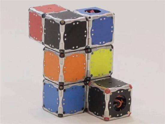 self-assembling-robot cubes 5