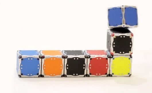 self-assembling-robot cubes 6
