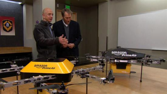 Amazon Octocopter Drone 1