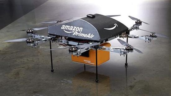 Amazon Octocopter Drone 2