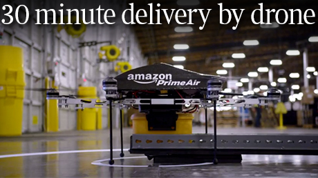 Amazon Octocopter Drone 3
