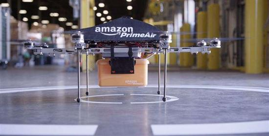Amazon Octocopter Drone 4
