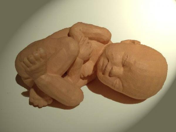 fetus figurine