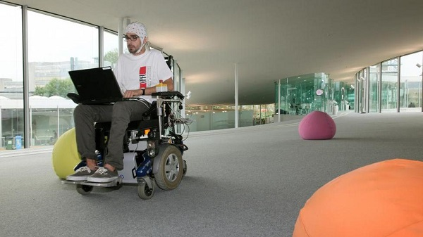 mind controlled wheel chair