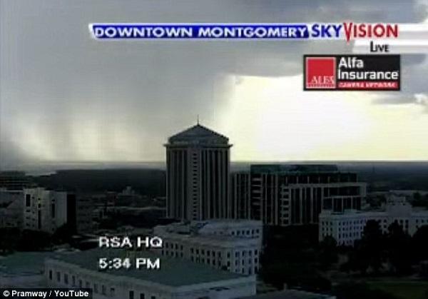 montgomery bottom clouds break rainfall amazing