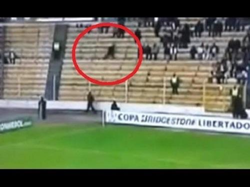 ghost on stadium