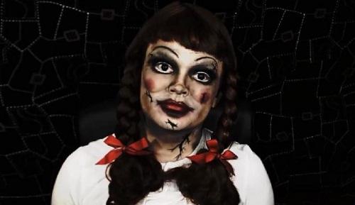 Annabelle Halloween Costume doll