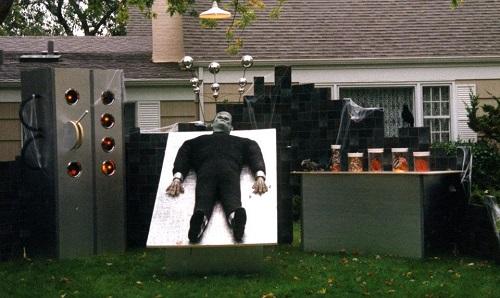 Frankenstein Lab at Halloween House