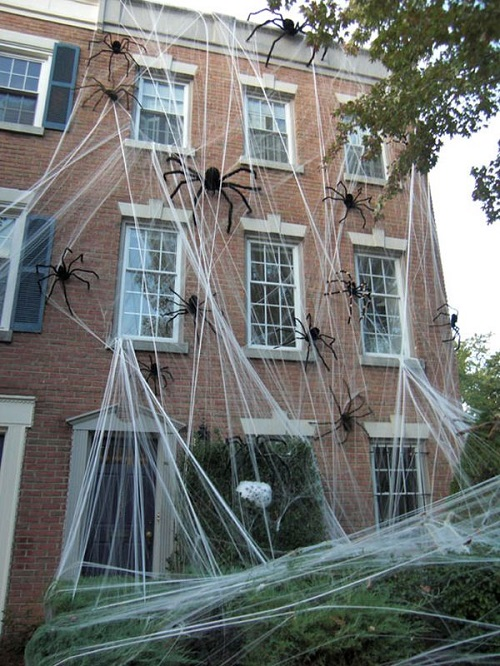 Halloween Spiders outdoor