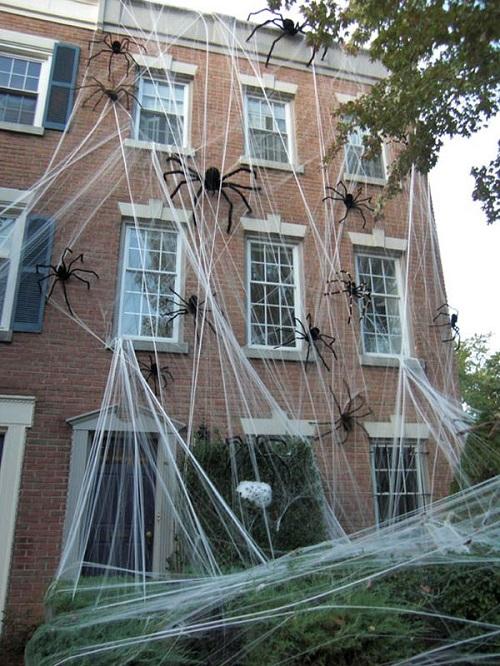Halloween Spiders outdoor