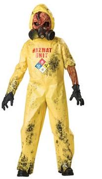 Hazmat Child Halloween Cost