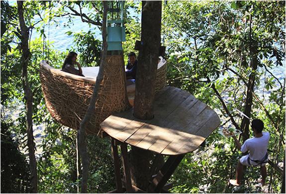 Soneva Kiri Tree Pod Dining 2