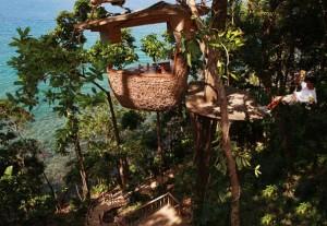 Soneva Kiri Tree Pod Dining 4