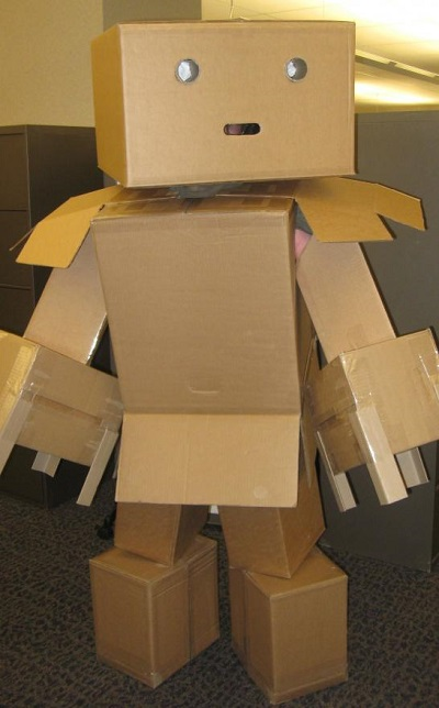The Best Cardboard Robot Costume