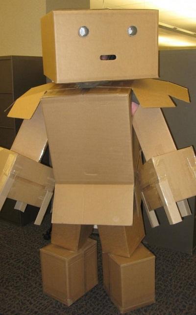 The Best Cardboard Robot Costume