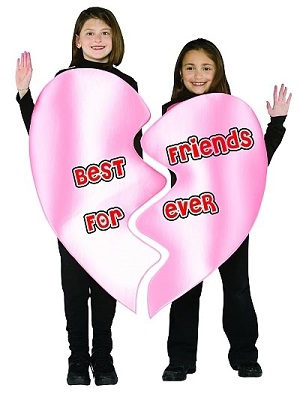 best friends costume