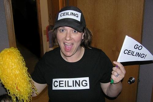 ceiling fan halloween costume