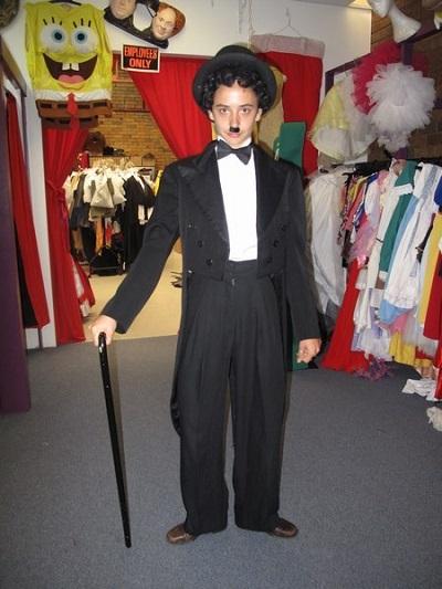 charlie chaplin halloween