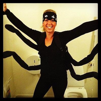 cool spider costume