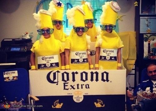 corona 6 pack costume 1