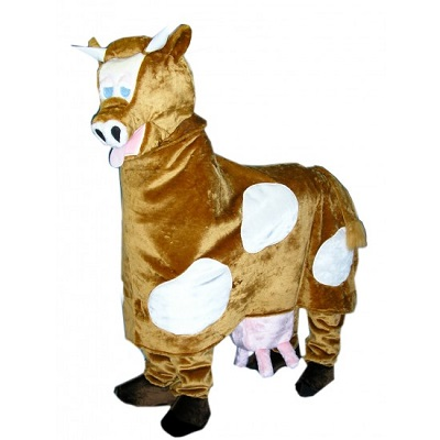 cow costume funny
