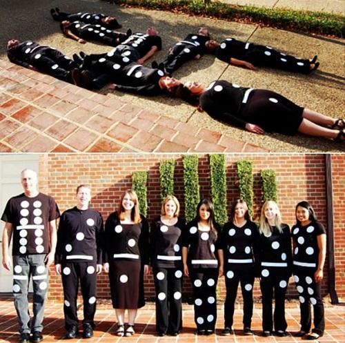 dominoes group costume
