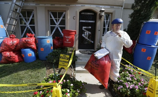 ebola halloween house