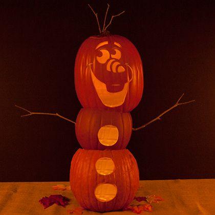 frozen-olaf-pumpkin