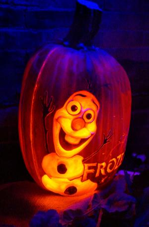 frozen_olaf-pumpkin