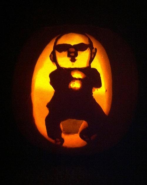 gangnam style pumpkin