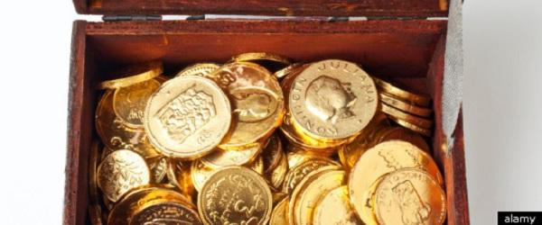 gold coins storage unit