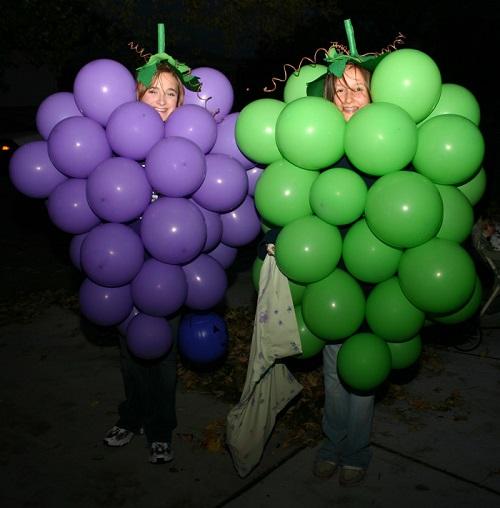 grape girls costume
