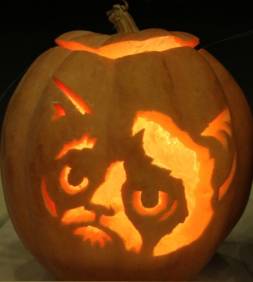 Best pumpkin carving ideas trends and events 2014 part 4 for Cat carved into pumpkin