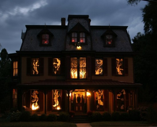 Best halloween themed house decorations trends 2014 part 3 - Cool themed houses ...