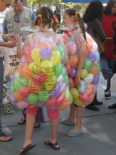 jelly bean costume