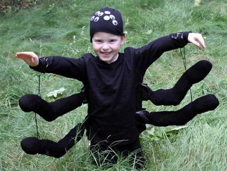 kid spider costume