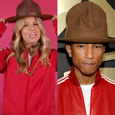 pharrell hat costume
