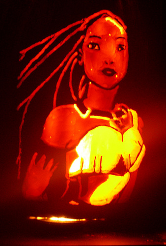 pocahontas-pumpkin-carving