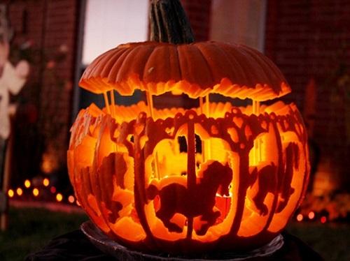 pumpkin carousel