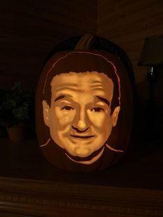 robin-williams-pumpkin