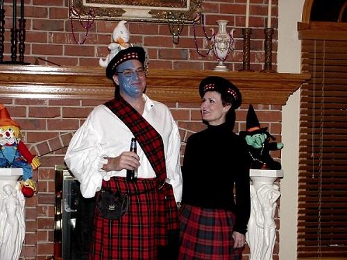 scottish costumes his hers