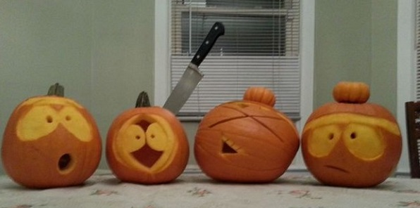 south park pumpkin carving