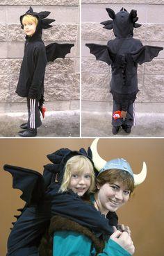 toothless costume
