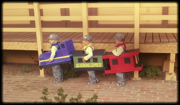 train costume