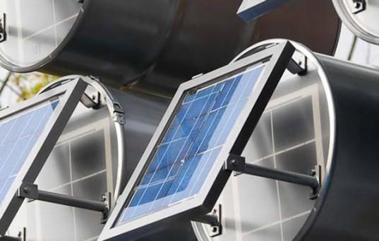 Solar Peace Sign 2 New York 2011