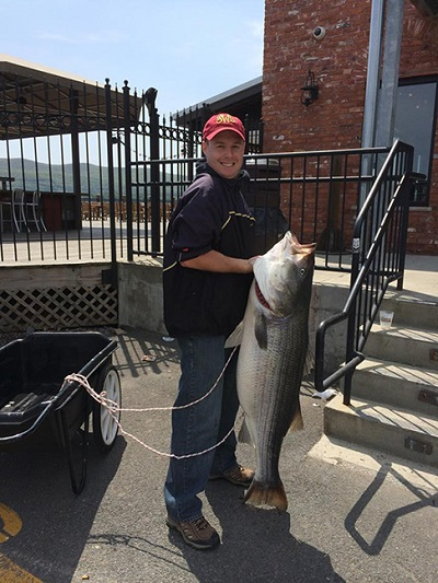 new york state record striped bass 20141