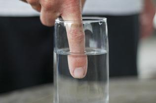 Finger in Water