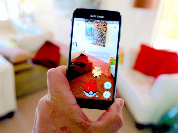 Pokemon Go Augmented Reality 600x450