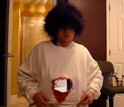 Fake-Hole-Man Halloween Costume